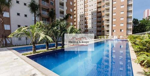 Parque Residence Apartamento Com 2 Dormitórios À Venda, 58 M² Por R$ 349.900 - Jardim Flor Da Montanha - Guarulhos/sp - Ap2752