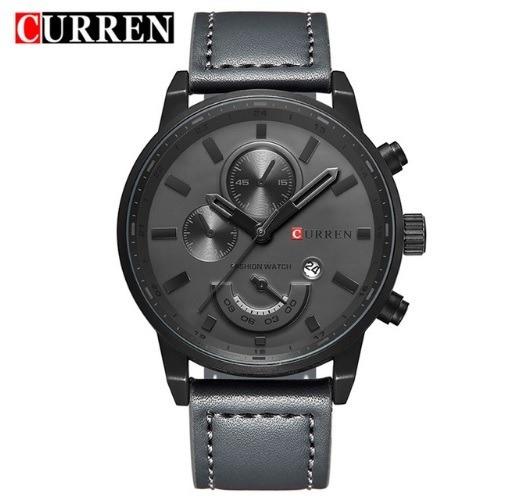 Relógio Masculino Quartz Watch Curren