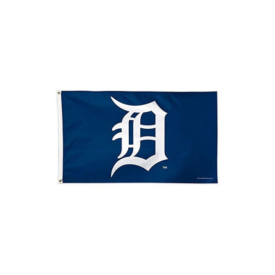 Bandera De Lujo Mlb Detroit Tigers 01775115, 3 X 5