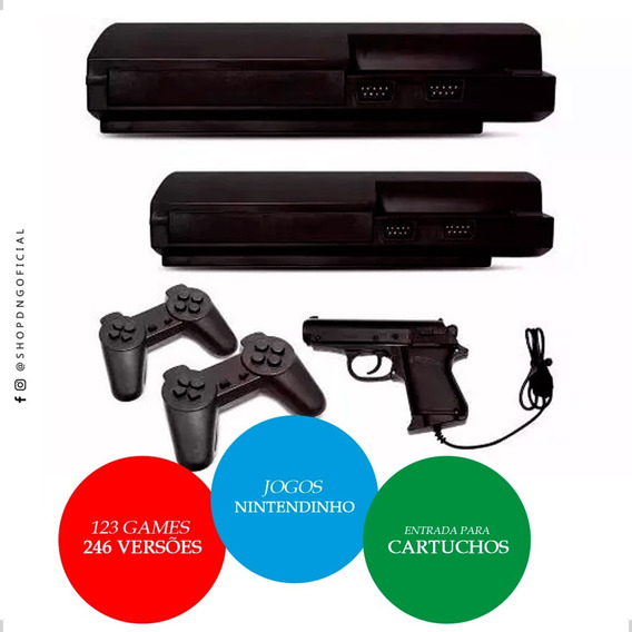 Oferta Game Retro Nes Polystation Lll Compativel C/ Cartucho