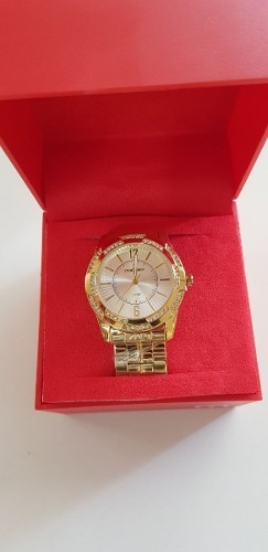 Relógio Feminino Mondaine Dourado Sem Bateria