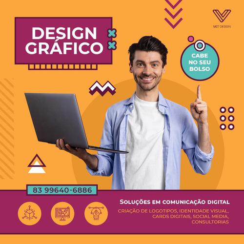 Imagem 1 de 3 de Design Gráfico, Criação De Logotipo, Identidade Visual
