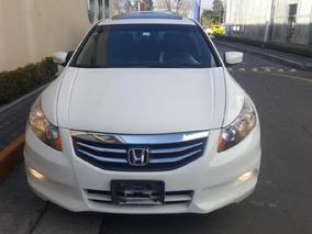 Honda Accord 4p Ex Sedan V6 Piel Abs Q/c Cd