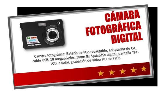 Camara Fotografica Digital Compacta 18 Megapixeles