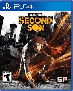 Infamous Second Son Ps4 Nuevo Y Sellado (en D3 Gamers)