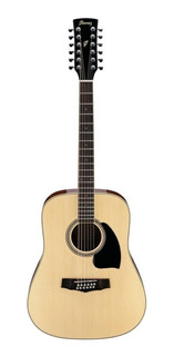 Guitarra Acústica Ibanez 12 Cuerdas Pf1512 Nt Docerola.