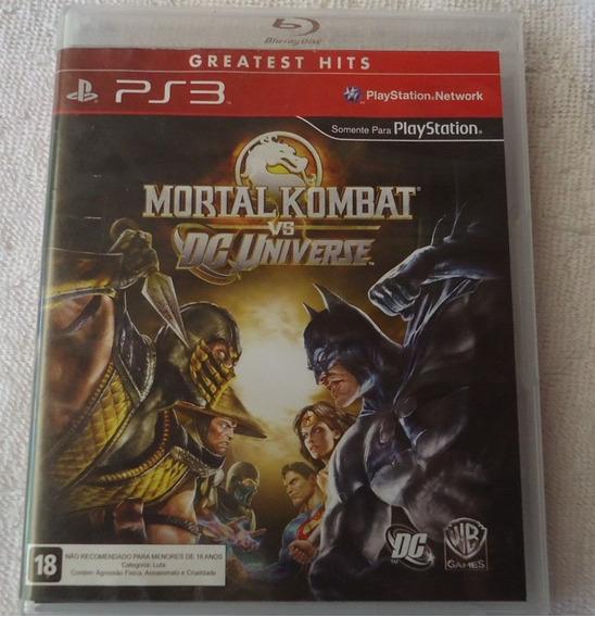 Mortal Kombat Vs Dc Universe Gh Ps3 ** Frete Gratis Leia