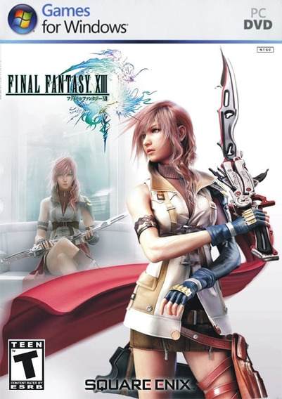 Final Fantasy Xiii (mídia Física) Pc Dvd