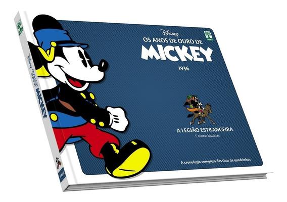 Coleção Hq Os Anos De Ouro De Mickey Capa Dura Novo