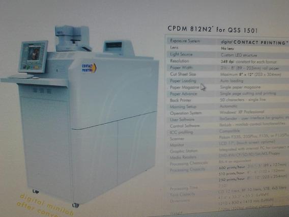 Minilab 1501 Digital - Densitômetro Ds-25 Contatct Printing