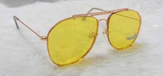 Óculos Para Dirigir A Noite Lentes Amarelas Night Drive