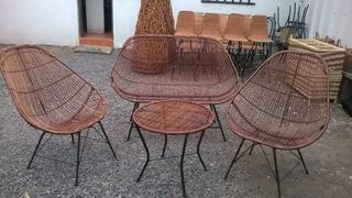 Vendo Juego Terraza Mimbre Terrazas Muebles Todo Para