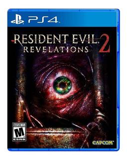 Resident Evil Revelations 2 Ps4 Nuevo Sellado