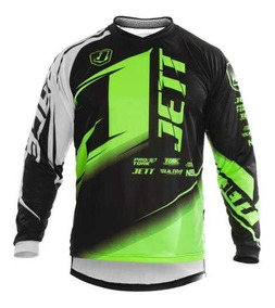 Camisa Trilha Motocross Pro Tork Jett Factory Edition Neon