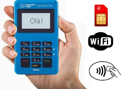 Maquininhas De Cartões Com Chip Seguro Mercado Pago Nfc
