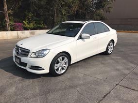 Mercedes Benz Clase C 200 Cgi Exclusive Aut. Blanco Con Piel