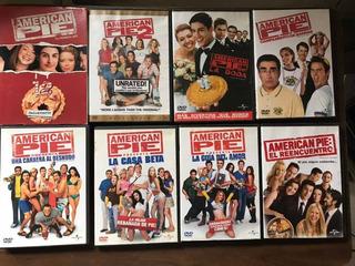 Colección De Películas American Pie Completa En Dvd