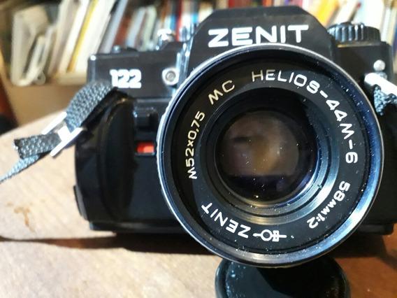 Camera Zenit 122 + Lente Helios 44-m6 58mm F2