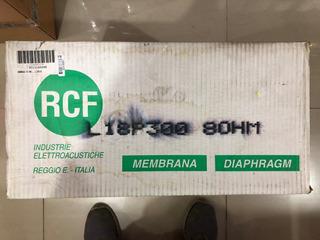 Rcf L18p300 Kit Repuesto Parlante Reconado Membrana