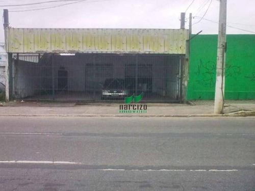 Galpão À Venda, 720 M² Por R$ 1.200.000,00 - Itapuã - Salvador/ba - Ga0032