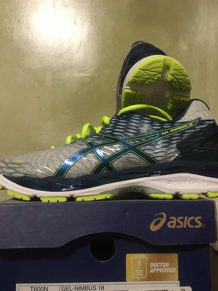 Asics Nimbus 18 Running Neutral 27 Mx Con Caja Impecables