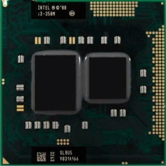 Processador Intel Core I3-350m 1ª Geração - Slbv5