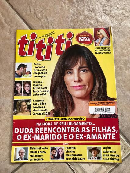 Revista Tititi 1009 Ellen Roche Marisa Orth Ano 2018