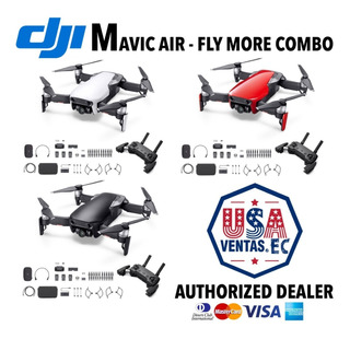 Dji Mavic Air Fly More Combo (rojo Blanco Negro)