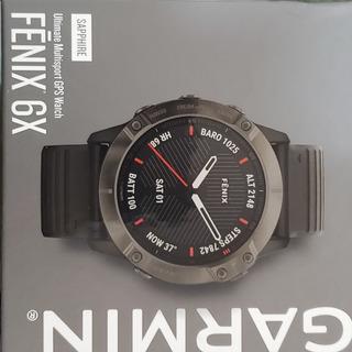 Garmin Fenix 6x Safira Edition, Usado , Nf. Garmin