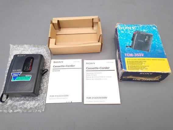 Gravador De Fitas Cassete Sony Tcm-313 Leia O Anúncio