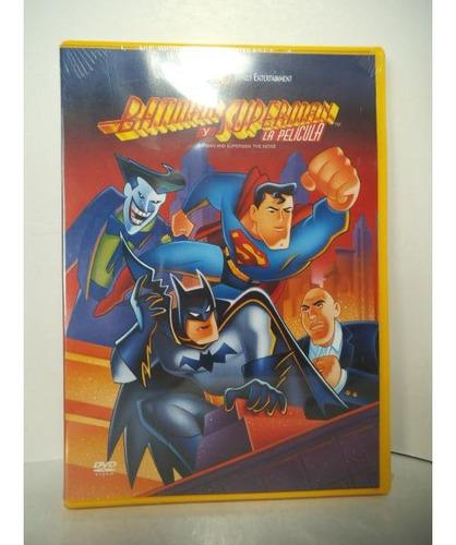 Imagen 1 de 2 de Batman Y Superman La Pelicula   Dvd