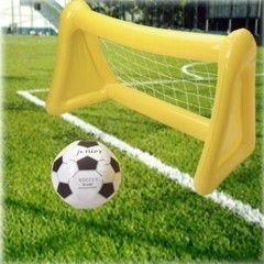 Trajes Oficiales Inflable Fútbol Objetivo Con Pelota