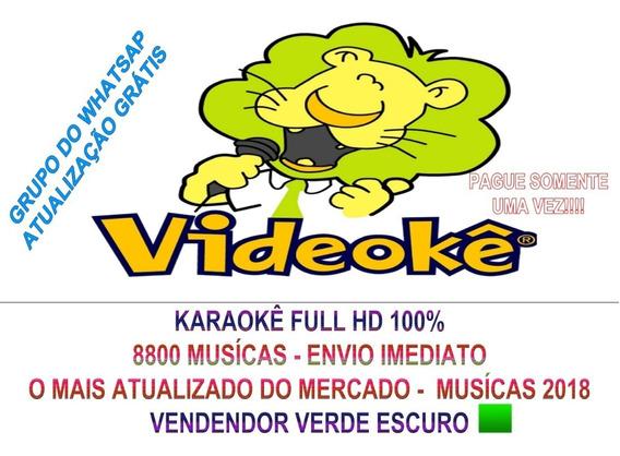 Videokê Karaokê Matriz Hd 2019 32a/ 10b 8940 Musicas C