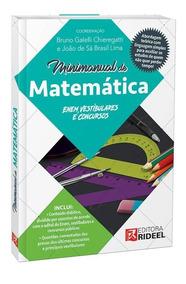 Livro Mini Manual De Matemática