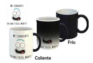 Taza Magica Rick Y Morty