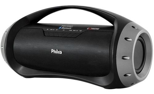 Speaker Usb/mp3/bluetooth Preto 40w Philco Bivolt Pbs40bt