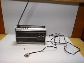 Radio Antigo Portatil Am Fm Hitachi Kh 1038r Ler Anuncio