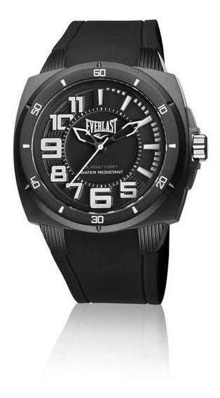 Relógio De Pulso Everlast Masculino Caixa Abs E676