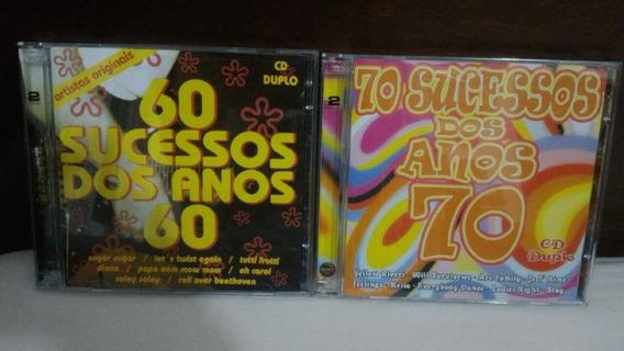 Coletânea Anos 60 E 70. 4 Cds