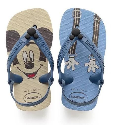 Havaianas Baby Disney Classics Bege Palha 4137 007