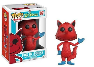 Funko Pop Fox In Socks 07 Dr Seuss Baloo Toys