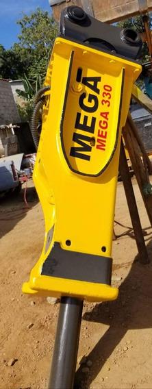 Martillo Hidraulico Mega 330 Para Excavadoras