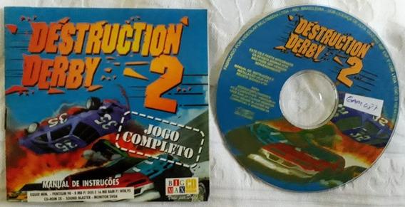 Cd Rom Jogo Completo Destruction Derby 2 Para Pc Windows