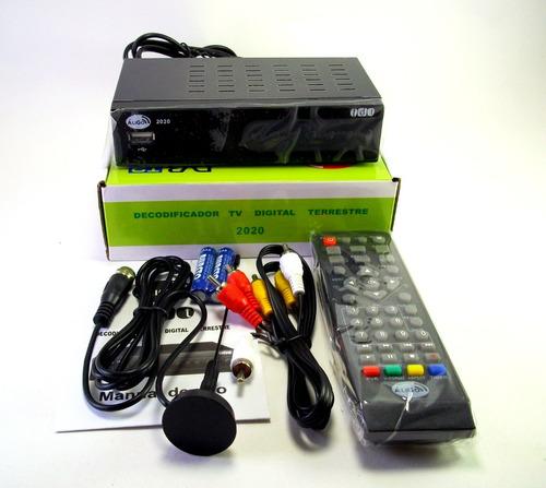 Decodificador Tdt Tv Usb Hdmi Rca Control Antena