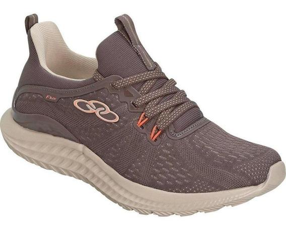 Tênis Running Olympikus Feminino Flux 550 Conforto Leve