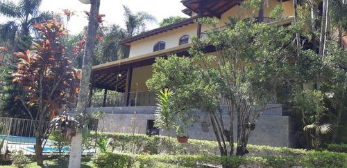Chácara Com 5 Dormitórios À Venda, 2200 M² Por R$ 990.000,00 - Sítios De Recreio Rober - Guarulhos/sp - Ch0032