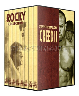 Rocky Colección Completa En Dvd Collection Boxeo Creed 2