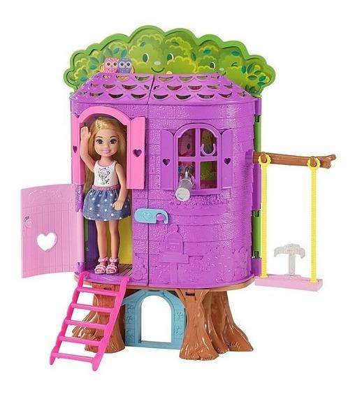 Barbie Casa Da Árvore Da Chelsea Fpf83 Mattel