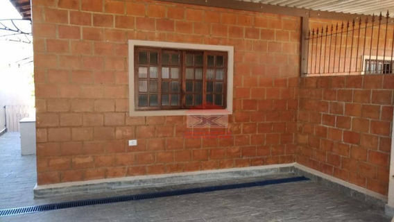 Casa Com 3 Dormitórios Para Alugar, 100 M²- Jardim Europa - Vargem Grande Paulista/sp - Ca0925