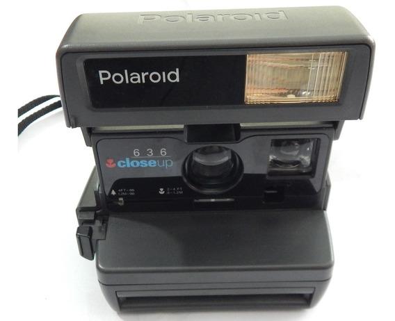 Câmera Polaroid Close Up 636 - Anos 1990